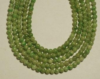4mm Jadeite Smooth Round Shape Bead