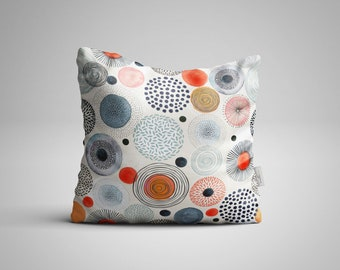 Dots of All Zany Cultures -  Throw Pillow