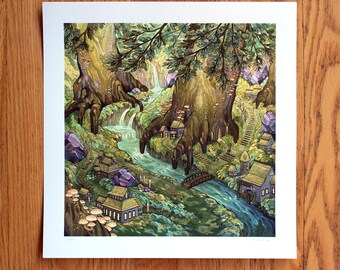 Forest Falls - Print