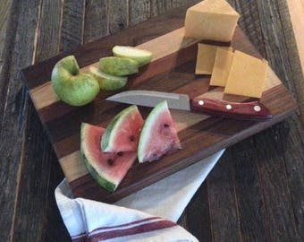 Triple Wood Cutting Board