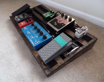 """Hand Made PedalBoard for guitar or bass 30x16"""""""
