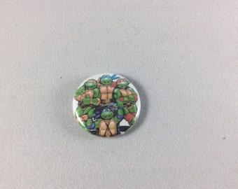 TMNT Button - 1 inch