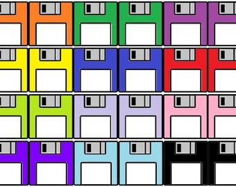 Floppy Disk Earrings  Customization