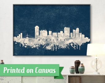 Winnipeg skyline | Etsy