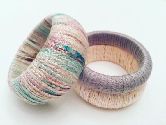 Set of Threee Dyed Bangles