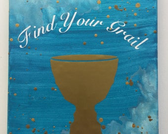 Find Your Grail Encaustic