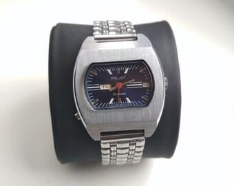 "RARE! Vintage Watch time of USSR ""Poljot"" original"