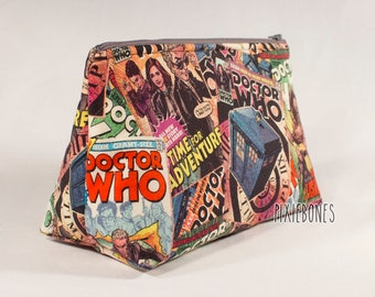 12th Doctor Cosmetic Bag - Made to Order
