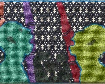 Needlepoint Figures by Judi Keen 1986