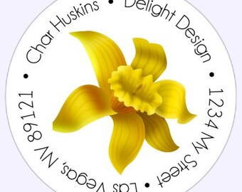 Custom Labels, Stickers - 2.5 inch round - Personalized for YOU  - Thank You, Address, or Logo Labels