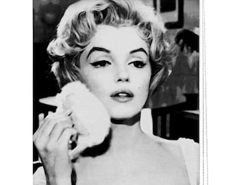 Marilyn Monroe picture printed window roller shade / blind
