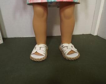 """Pailleté Strappy Sandals--parfait pour poupées 18"""""""