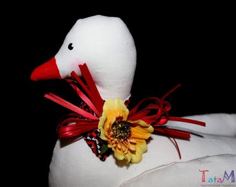 TILDA duck Fabric TOY Animals Plush Eco toy Gift in the Ukranian style Interior toy