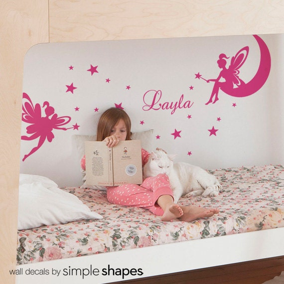 Kids Wall Decals Tinker Bell Wall Decal Fairy Wall Decal