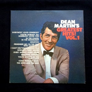 Dean Martin's Greatest Hits! Vol. 1 - 33 RPM - Reprise Records - Vinyl, LP, Compilation  -1968 - Easy Listening - Jazz, Pop