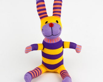 Christmas Gift New year Gift Handmade Sock Rabbit Bunny Stuffed Animal Doll Baby Toys easter gift