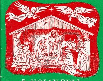 Christmas treasure trove, 10 small books for the Season, vintage, softcover