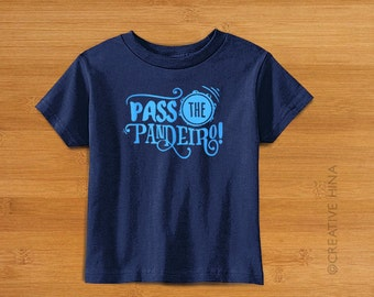 Pass the Pandeiro Shirt / Kids Capoeira Shirt / Capoeira / Brazil / Africa