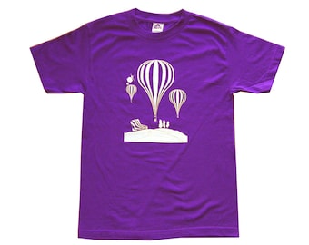 Balloons - Purple T-Shirt **SALE ITEM**