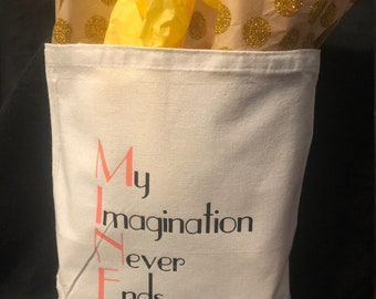 Gift/Tote Bag 'Imagine Nation Quotes' M.I.N.E.