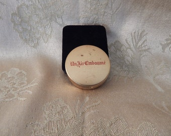 Vintage French Perfume /Pill Case