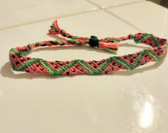 Watermelon Friendship Bracelets