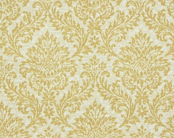 Retro Wallpaper by the Yard 70s Vintage Wallpaper – 1970s Vintage Golden Yellow Damask