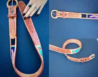 ROSE MARIE Leather Belt