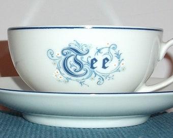 German Porcelain 'TEE'/TEA CUP, Kronester Bavaria