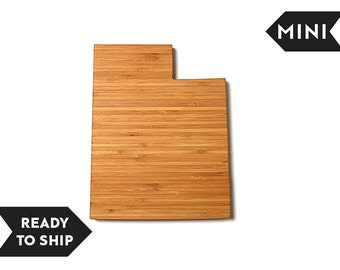 On Sale! MINI Utah State Cutting Board, Personalized Cutting Board, Custom Cutting Board, Unique Wedding Gift, Personalized Gift