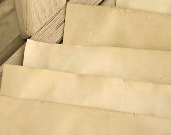Tea Stained Antique Paper 12 sheets medium weight