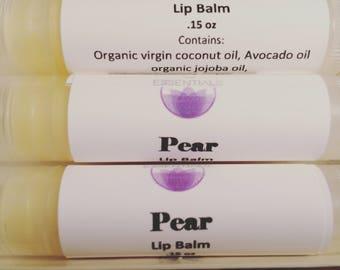 """All natural lip balm """"pear"""""""