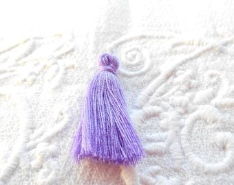 1 Purple mini Pompom 3 cm.