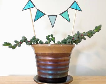 Small Stained Glass Bunting