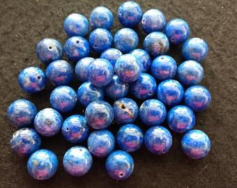 Vintage Lapis Lazuli 10mm Rounds