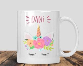 Unicorn Mug, Personalized Unicorn Mug, Name Mug, Custom Mug, Coffee Mug, Mythical Gifts, Unicorn Gifts, Birthday Gifts, Custom Coffee Mug,