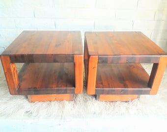 Save 30%! Vintage Mid Century Modern End Table