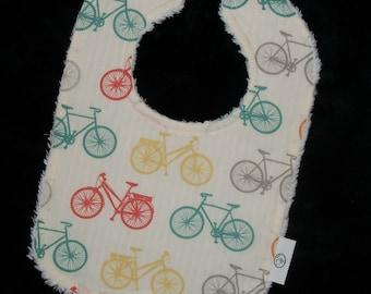 Organic Bike-It Bicycle and Chenille Bib