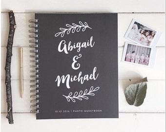 Photo Booth Guest Book. Custom Wedding Photo Book. Photo Booth Book For Wedding. Wedding Custom Album Photo Book. Wedding Album