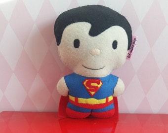 handsewn felt superman