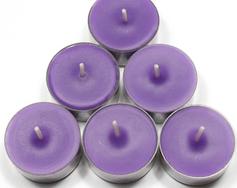 Black Opium Handmade Premium Quality Highly Scented 6 Tea Light Candles