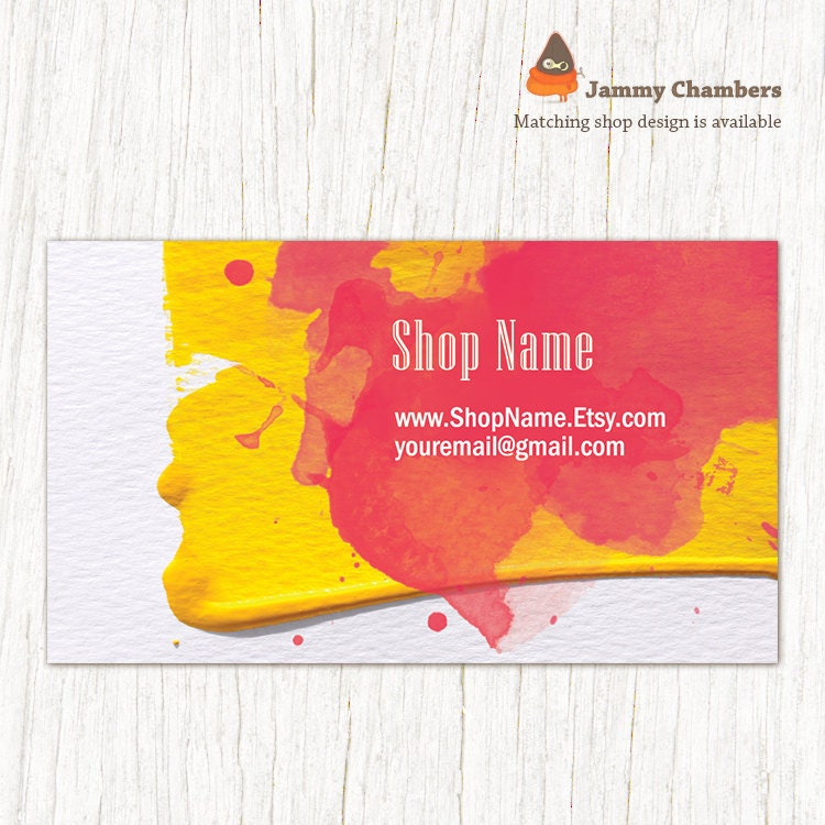 Business Card template Printable template Thank you Discount