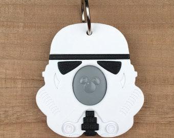 Stormtrooper Magic Band Buddy - Disney MagicBand 2.0 Icon Holder / Keeper - Star Wars
