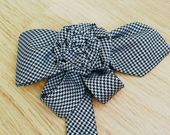 Dress Pin made from tie