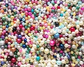 Colorful Pearls with Hole...