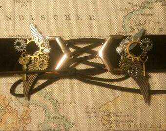 Steampunk/Victorian/Gothic Chocker Necklace