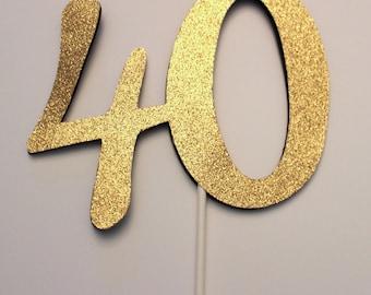 40 topper Etsy