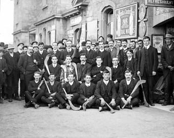 "1910 Tipperary Hurling Team, Ireland Vintage Photograph 8.5"" x 11"""