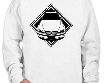Sweatshirt with Bmw e46 imige