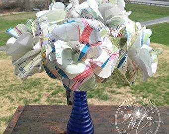 Poland Map Flower, World Map Flower, Map Theme Wedding, Map Roses, Paper Rose, Polska Decor, World Map Decor, Wedding Favors, Paper Flower